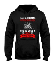 Motorcycles Lady 2304 Hooded Sweatshirt thumbnail