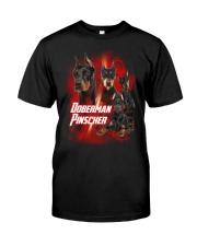 GAEA - Doberman Pinscher Great 1104 Classic T-Shirt front