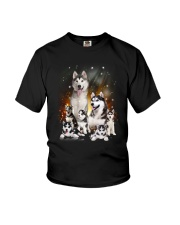 GAEA - Siberian Husky Happy Family 1904 Youth T-Shirt tile