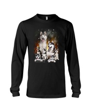 GAEA - Siberian Husky Happy Family 1904 Long Sleeve Tee thumbnail