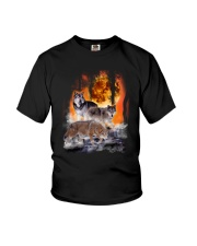 Wolf In Forest 0506 Youth T-Shirt thumbnail