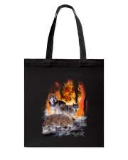 Wolf In Forest 0506 Tote Bag thumbnail