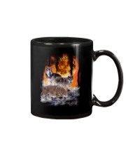 Wolf In Forest 0506 Mug thumbnail