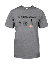 Wine Simple Woman 2004 Classic T-Shirt front