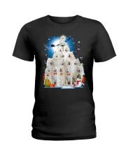 Samoyed Pine - 1410 - 91 Ladies T-Shirt thumbnail