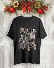 Australian Cattle Dog Five Classic T-Shirt lifestyle-holiday-crewneck-front-2
