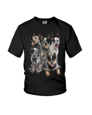 Australian Cattle Dog Five Youth T-Shirt tile