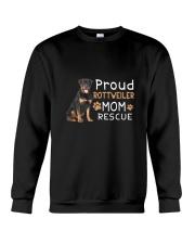 Rottweiler Mom Rescue 2505 Crewneck Sweatshirt thumbnail