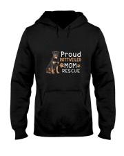 Rottweiler Mom Rescue 2505 Hooded Sweatshirt thumbnail