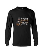 Rottweiler Mom Rescue 2505 Long Sleeve Tee thumbnail
