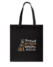 Rottweiler Mom Rescue 2505 Tote Bag thumbnail