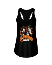 Bernese Mountain Dog Great Halloween - 03 Ladies Flowy Tank thumbnail
