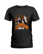Bernese Mountain Dog Great Halloween - 03 Ladies T-Shirt thumbnail