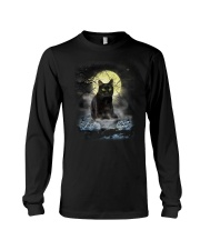 Black Cat Moon 2205 Long Sleeve Tee thumbnail