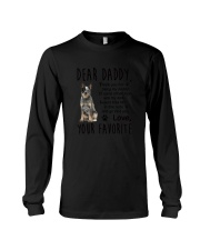 Australian Cattle Dog Daddy Favorite 1805 Long Sleeve Tee thumbnail