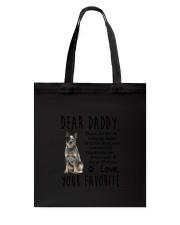 Australian Cattle Dog Daddy Favorite 1805 Tote Bag thumbnail