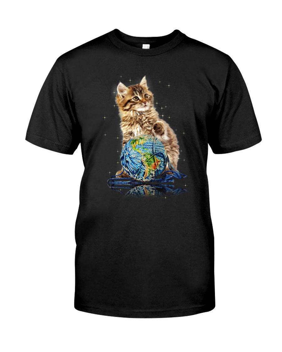 Cat My World 2604 Classic T-Shirt