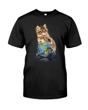 Cat My World 2604 Classic T-Shirt front