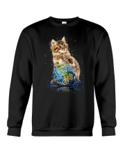 Cat My World 2604 Crewneck Sweatshirt thumbnail