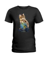 Cat My World 2604 Ladies T-Shirt thumbnail