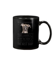 Whippet Human Dad 0206 Mug tile