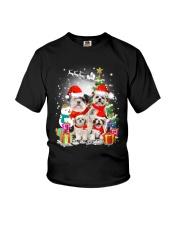 ZEUS - Shih Tzu Christmas - 2909 - A9 Youth T-Shirt thumbnail