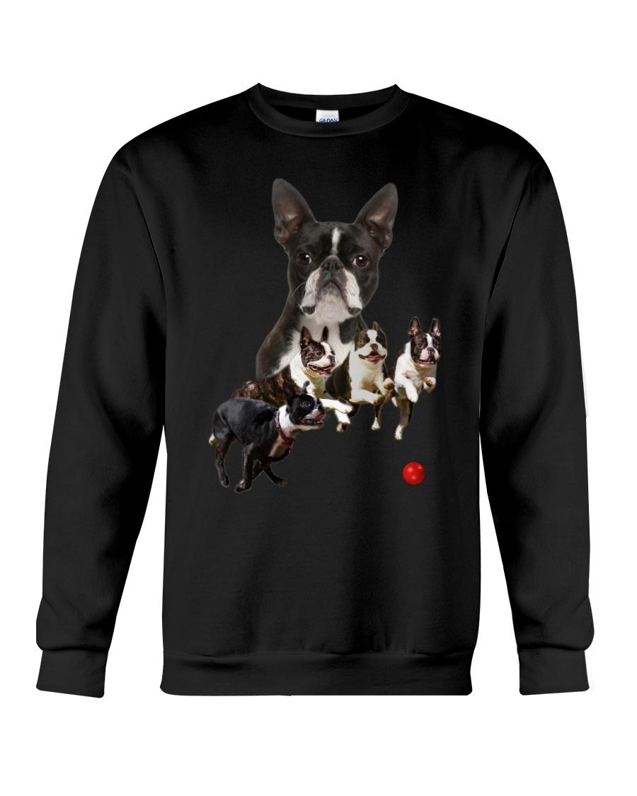GAEA - Boston Terrier Runnig 1403 Crewneck Sweatshirt