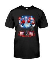 Cane Corso Holiday D2105 Classic T-Shirt front