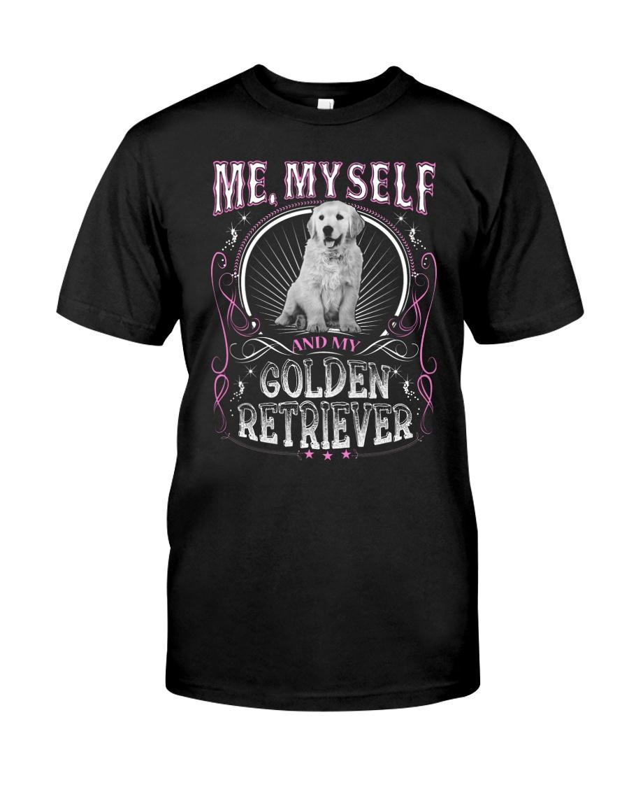 Golden Retriever Me Classic T-Shirt