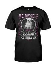 Golden Retriever Me Classic T-Shirt front