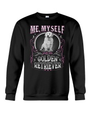 Golden Retriever Me Crewneck Sweatshirt thumbnail