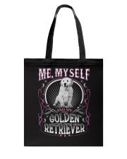 Golden Retriever Me Tote Bag thumbnail