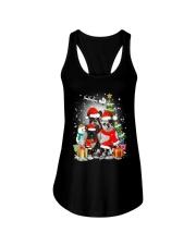 French Bulldog Christmas - 2809 - 74 Ladies Flowy Tank thumbnail