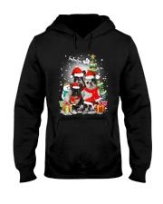 French Bulldog Christmas - 2809 - 74 Hooded Sweatshirt front