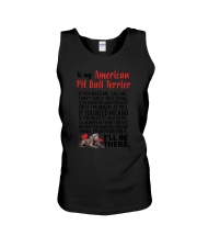 American Pit Bull Terrier Will Be There 0606 Unisex Tank thumbnail