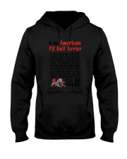 American Pit Bull Terrier Will Be There 0606 Hooded Sweatshirt thumbnail