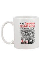 American Pit Bull Terrier Will Be There 0606 Mug back