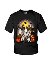 Boston Terrier Halloween Youth T-Shirt thumbnail