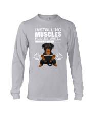 Rottweiler Muscles Long Sleeve Tee thumbnail
