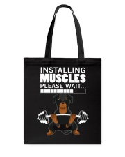 Rottweiler Muscles Tote Bag tile