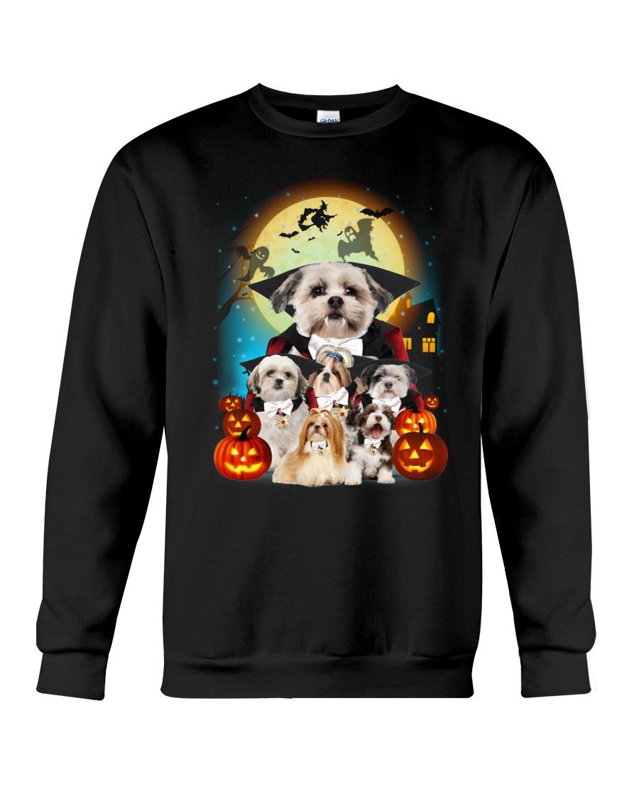 Shih Tzu Dracula - 2208 - 16 Crewneck Sweatshirt