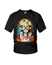 Shih Tzu Dracula - 2208 - 16 Youth T-Shirt thumbnail