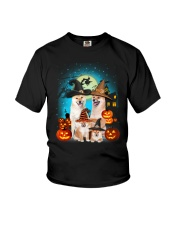 Gaea - Shiba Inu Halloween - 1608 - 27 Youth T-Shirt tile