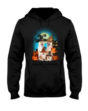Gaea - Shiba Inu Halloween - 1608 - 27 Hooded Sweatshirt tile