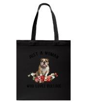 Bulldog Love Woman 2104 Tote Bag thumbnail