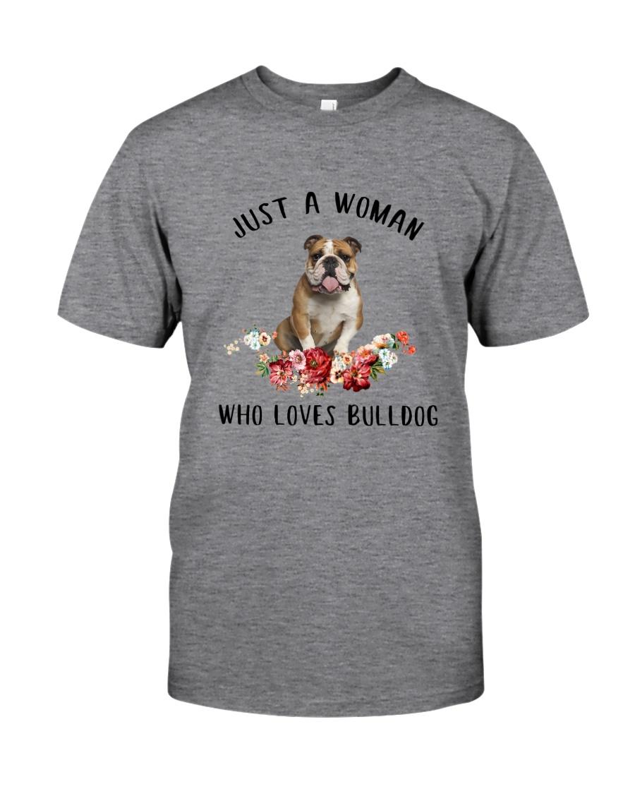 Bulldog Love Woman 2104 Classic T-Shirt