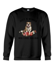 Bulldog Love Woman 2104 Crewneck Sweatshirt thumbnail