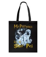 Shar Pei Patronus Tote Bag thumbnail