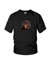 Doberman Pinscher Dear Human Dad 0106 Youth T-Shirt thumbnail
