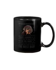 Doberman Pinscher Dear Human Dad 0106 Mug tile
